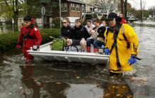 Responders rush to rescue flooded N.J. Town