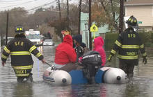N.J. towns hit by flooding after the storm, forcing hundreds to evacuate