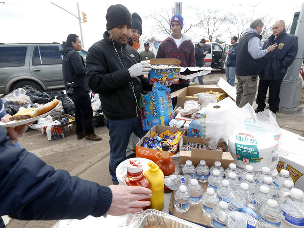 New Yorkers helping neighbors after Sandy