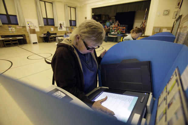 Americans head to the polls to vote