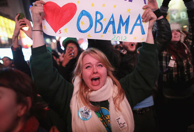 Americans react to election results