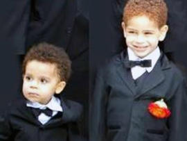 Brendan and Connor Moore were killed during superstorm Sandy. A funeral was being held for them Friday.