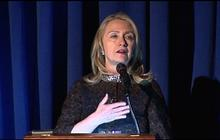 "Clinton: Late Amb. Stevens an ""inspiration"""