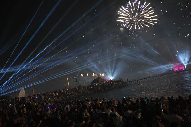 Worlds biggest firework show