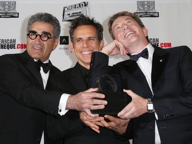 Ben Stiller honored at American Cinematheque gala