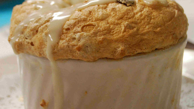 Recipe: Bread Pudding Souffle With Whiskey Sauce - CBS News