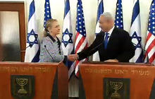 Clinton, Netanyahu discuss diplomatic end to Gaza violence