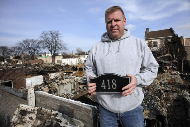Superstorm victims on Thanksgiving