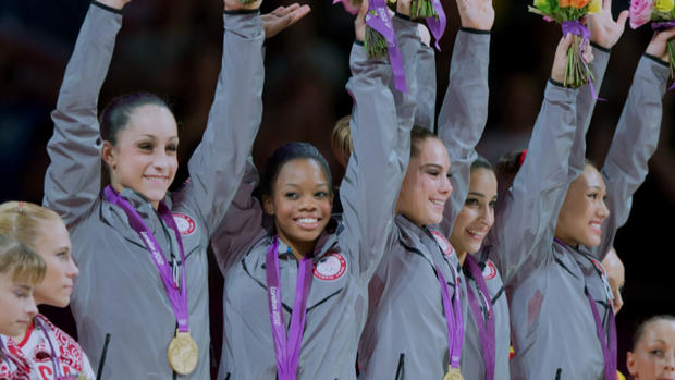 On tour with gymnast Gabby Douglas
