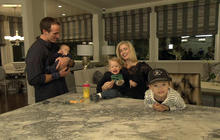At home with Drew and Brittany Brees