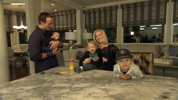 Drew Brees Mansion Drew Brees on Family