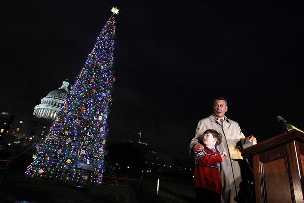 U.S. Capitol Christmas Tree lighting ceremony