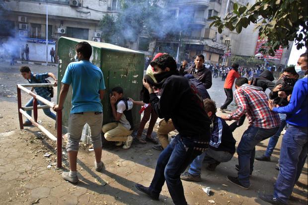 Showdown in Egypt