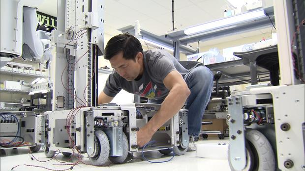 Robot tech heads into overdrive