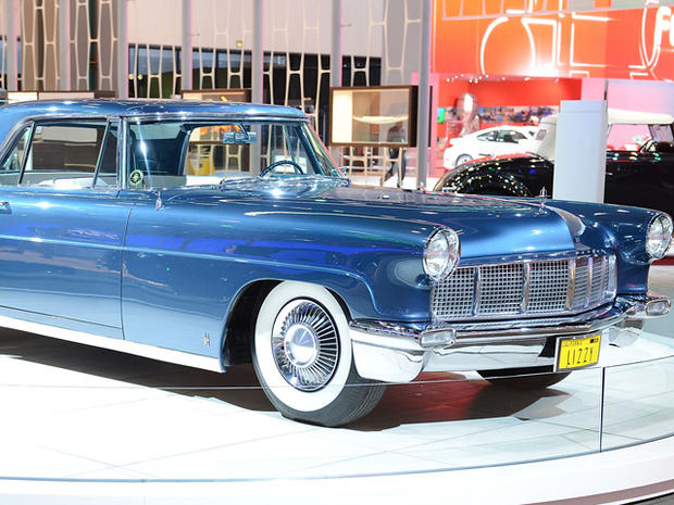 Classic cars at the L.A. Auto Show