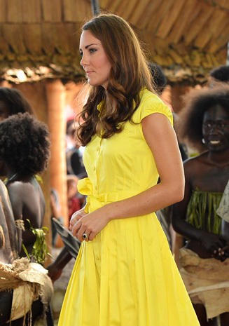 Can you spot Kate's baby bump?