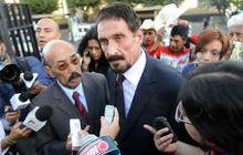 John McAfee speaks out from Guatemala