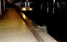 Police question man in NYC subway killing