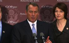 "Boehner: We can't ""negotiate with ourselves"" on ""fiscal cliff"""