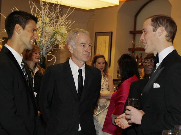Prince William at Winter Whites Gala