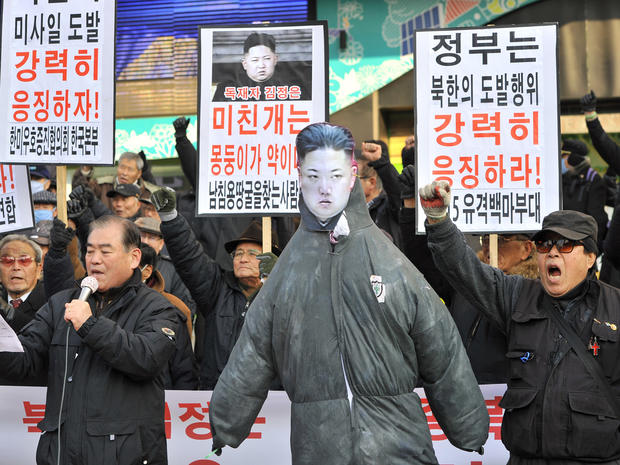 North Korea's long-range rocket launch