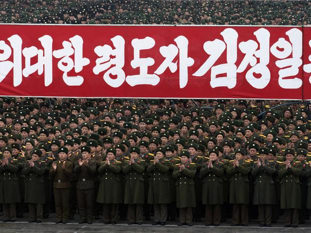 North Korea celebrates rocket launch