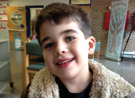 Nov. 13, 2012 photo provided by the family via The Washington Post shows Noah Pozner, 6