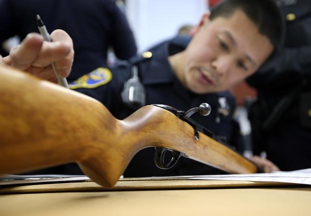 Anonymous gun buy back program