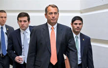 "Boehner's ""fiscal cliff"" offer brings optimism to Capitol Hill"