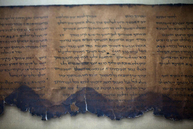 Dead Sea scrolls go online