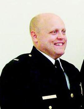 Police Lt. Michael Chiapperini was killed while responding to a fire in Webster, N.Y.