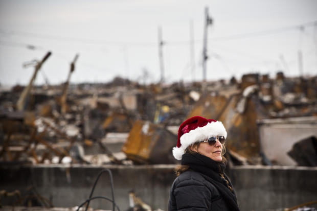 Christmas comes to superstorm victims