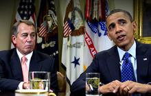 """Fiscal cliff"" deal lacks spending cuts"