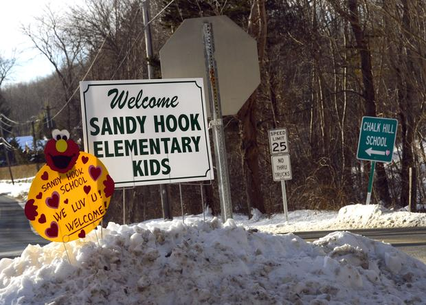 Newtown students return to class