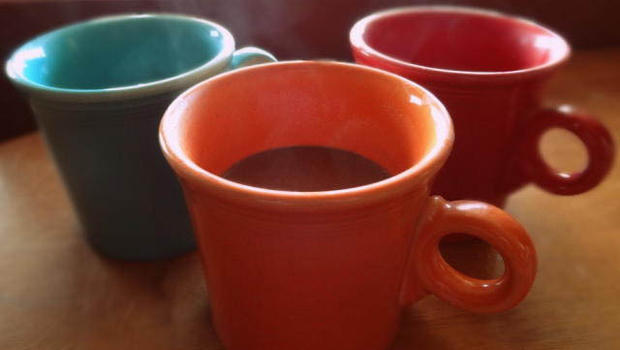 Hot chocolate tastes best in orange mugs, study finds ...
