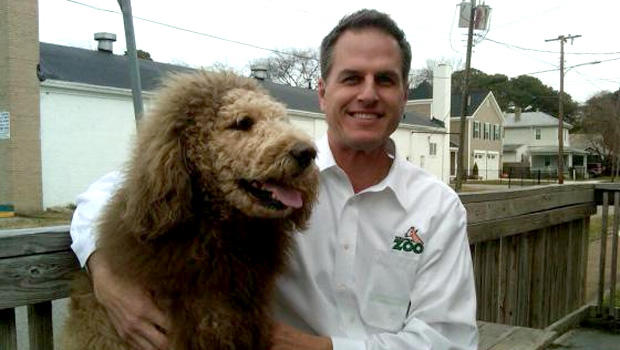 Charles and Virginia Zoo director Greg Brockheim.
