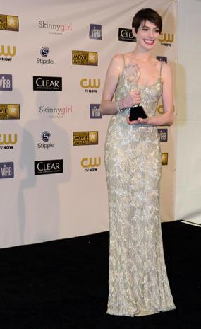 Critics' Choice Movie Awards 2013 press room