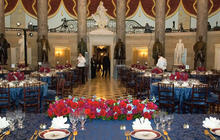 A look inside the inaugural luncheon