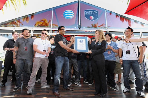 Guinness World Records' top gaming records