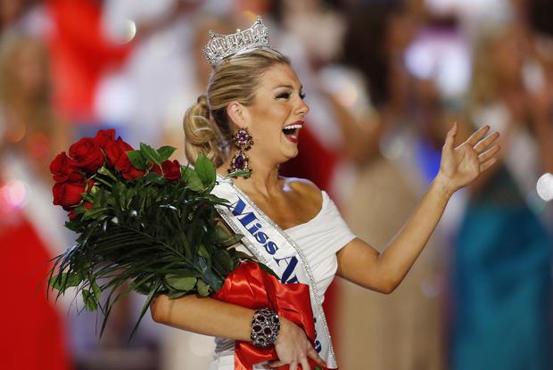Miss New York is crowned Miss America
