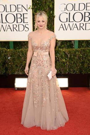 Golden Globes 2013 red carpet