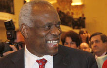 Justice Thomas speaks up in court - first time in years