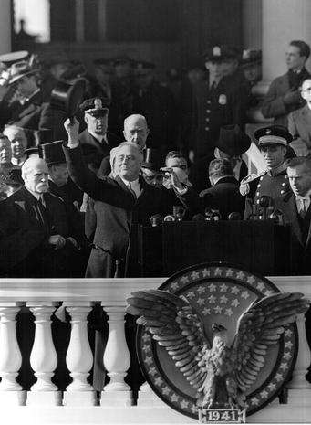 Inauguration Day through the years