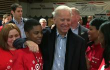 Bidens lend a hand on National Day of Service