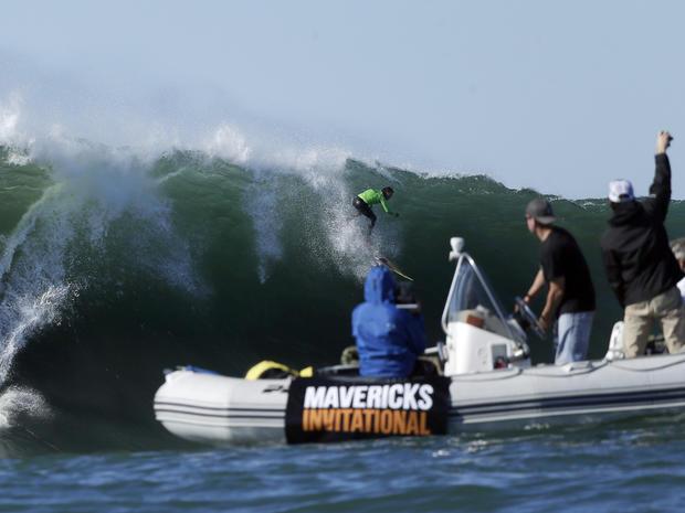 Mavericks Invitational, surfing, big wave
