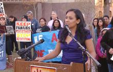 Immigrant activist prevents family's deportation