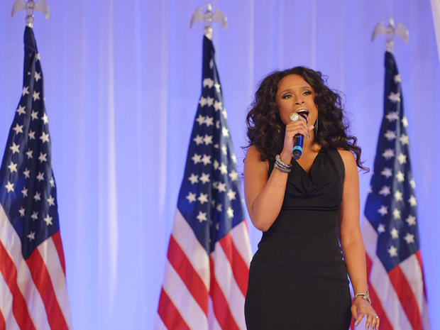 Stars at Inauguration Day 2013 events