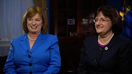 New Hampshire Sen. Jeanne Shaheen (D) and Rep. Ann Kuster (D)