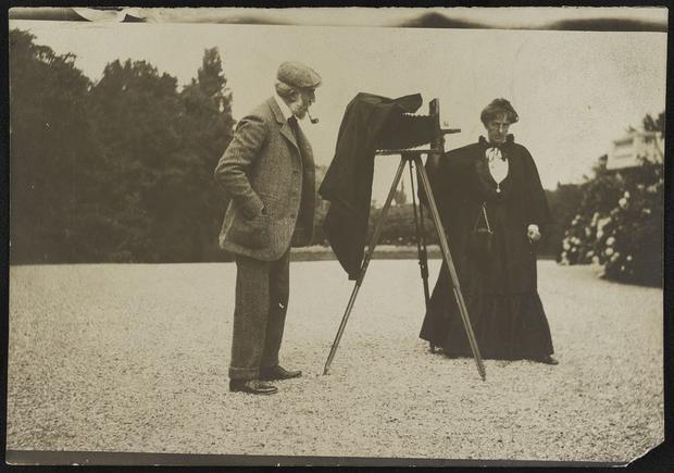 Vintage pics: A look behind the camera