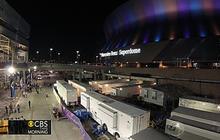 Super Bowl setup time lapse